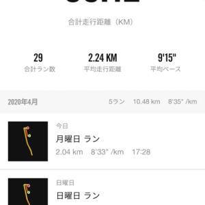 2月から朝ジョギング 2キロ 始めてます。