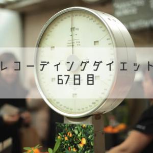 レコーディングダイエット67日目