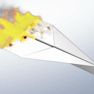 shoot down in flames (計画や考えなどを論破する、批判して退ける) の例文