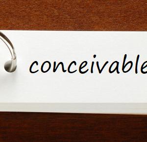 英検準1級レベルの単語と例文 — conceivable