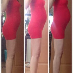 32W0D 妊娠9ヶ月目!体型変化記録・体重+4.4㎏