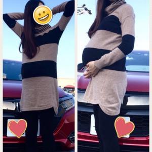 妊娠9ヶ月 母とベビーグッズのお買い物