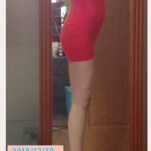 23W0D 妊娠6ヶ月4週 体型変化の画像記録2