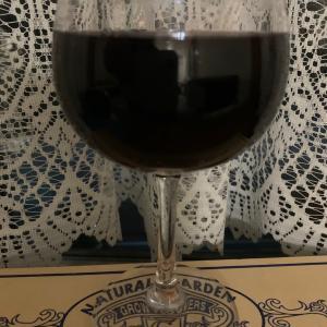ワインと栗?