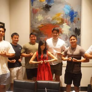 \ラグビーW杯!日本史上初決勝進出おめでとうございます!肉パワー全開で頑張って下さい!/