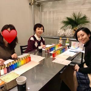 【3名様☆ご感想】TCカラーセラピスト講座〜再開しました!