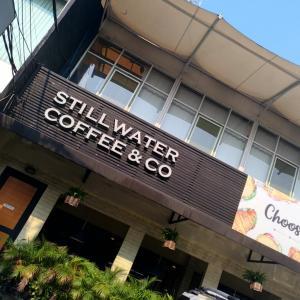 ブログとカフェの相性。@Stillwater Coffee & Co
