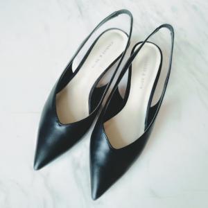 身長が低くても、足が綺麗に見えるカタチの靴