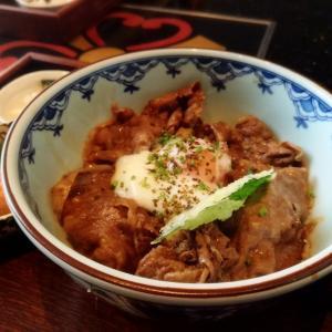 Momozenで初ランチ。46階で食べる牛丼