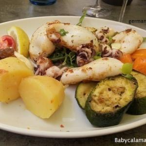 続いてはギリシア料理