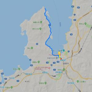 敦賀半島先端まで行ってみた