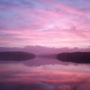 幻想的狭山湖 ヾ(*ゝω・*)ノ