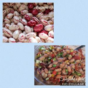 ワンプレートで栄養満点&ヘルシーなうずら豆のサラダ