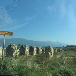 ギリシャからジョージアに色々国境を越えて行く自家用車の旅《ニ日目》ヴォロスからのブルガリア