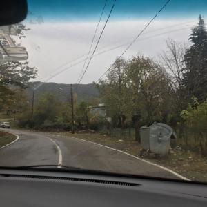 ギリシャからジョージアに色々国境を越えて行く自家用車の旅《十八日目②》オカセ渓谷へ!
