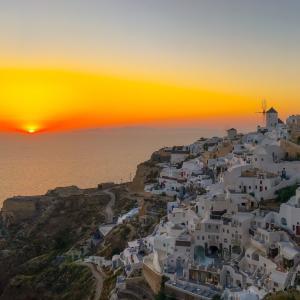 ギリシャをオンラインで旅行!バーチャルツアーのご紹介!①サントリーニ島