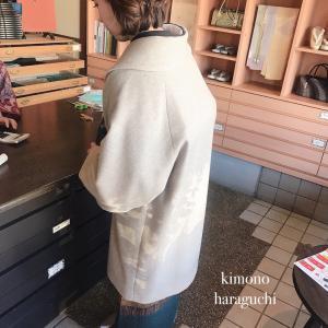 着物コート♡