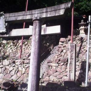 10/13(日) 小松市尾小屋町の奥にある、白山神社へお参り。