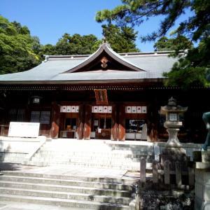 9/21(月) 加賀市大聖寺、菅生石部神社でお参り。