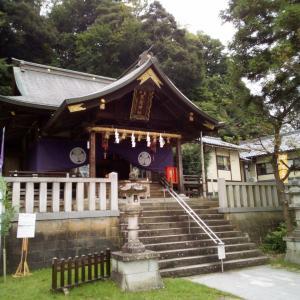 9/12,福井県福井市毛矢、毛谷黒龍神社でお参り。