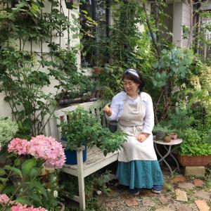 最高に幸せなお庭時間