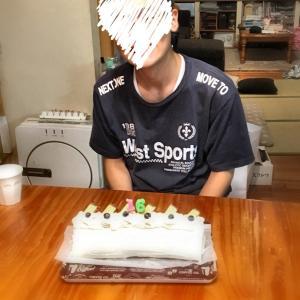 長男16才の誕生日