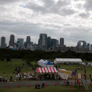 10月22日 猫ひろしフォームを激写&ロケットマラソンの参加証や風景