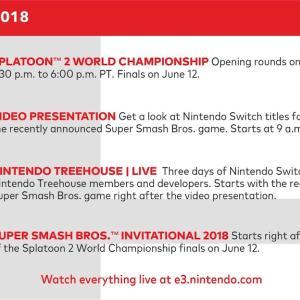 【E3 2019】任天堂の発表内容を予想してみた。【スケジュールまとめ、どうぶつの森、スマブラDLC新ファイター、スプラトゥーン3?、隠し球は?】