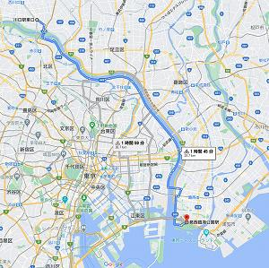 Google Mapが自転車ルートに対応