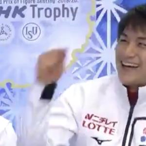 速報!ガッツポーズ出た!NHK杯ペアショートの木原&三浦組!