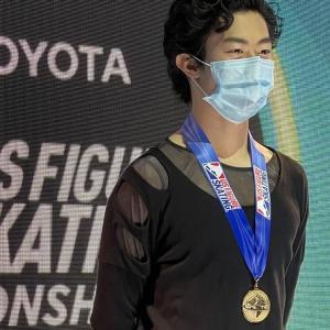 【速報】ネイサン優勝も上位はミスが!男子フリー結果は?全米フィギュア