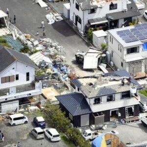 天災の少ない静岡で竜巻が!