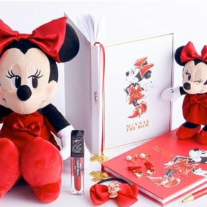 真っ赤なドレスのミニーグッズが新発売!ストアのミニーの日特集