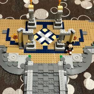 お家でディズニー!LEGOシンデレラ城2日目