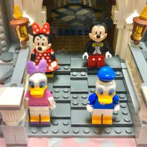 お家でディズニー!LEGOシンデレラ城10日目