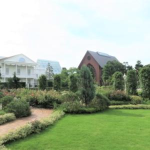 シェラトンの庭園散策でリゾート気分満喫♡
