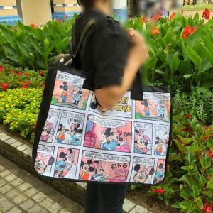 ディズニーストア♡みんな買ってたトートバッグ!