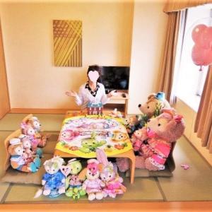 7月お泊まりディズニー⑥エミオンの和洋室♡広すぎて和室はダッフィーたちのお部屋にしました!