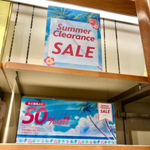 ストア夏物一層!サマーセールで半額商品続出!!