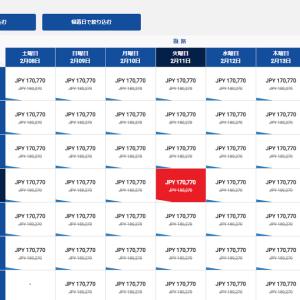 中国国際航空のビジネスクラスが安い期間っていつ?羽田からシンガポール間の運賃規則 前編