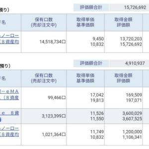 資産公開(2020.11)1週目