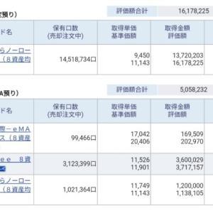 資産公開(2020.11)2週目