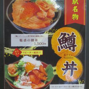 道の駅 万葉の里高岡の「トロッと炙っちゃい鱒丼」