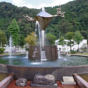 庄川水記念公園の遊歩道散策
