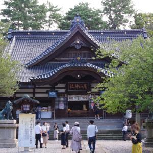 尾山神社のカエル