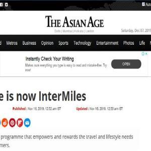 JetAirwaysのマイルがInterMilesというマイルに変換されてる件