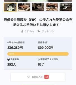 タネちゃんクラウドファンディング満額達成!