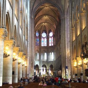 2015年フランスの旅(3)ノートルダム大聖堂と落ちるブレーカー