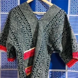 モン族刺繍のシャツ作成