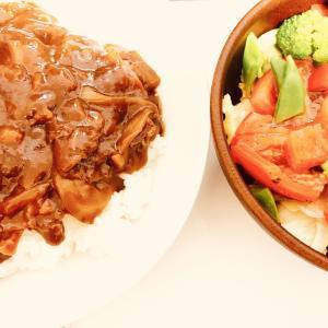【料理】 手抜きご飯の代表 ハヤシライス